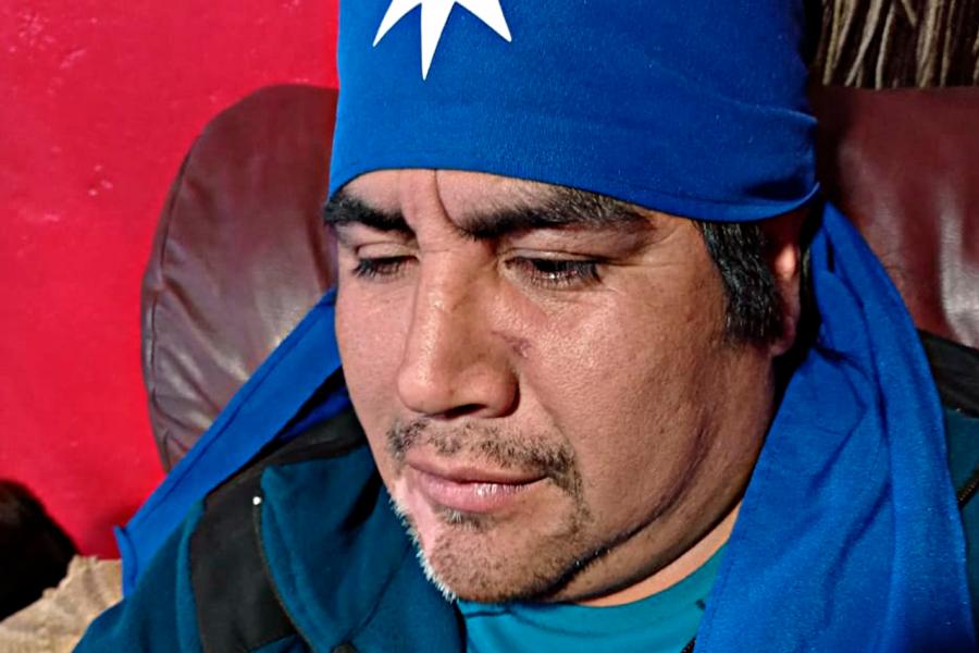 """""""¡Hay que quemarlos!"""": La historia del werkén torturado por militares"""